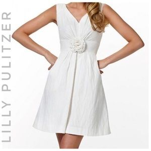 LILLY PULITZER Parker Dress In resort white